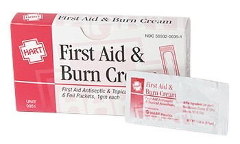 Hart Health First Aid Burn Cream