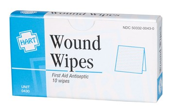 Hart Health Wound Wipes