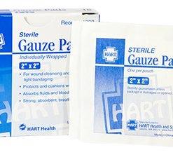 Hart Health Sterile Gauze Pads