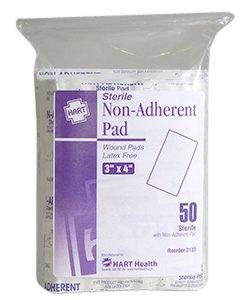 "Hart Health Non Adherent Pad 3""x4"""