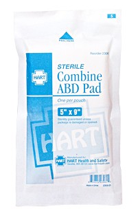 Hart Health ABD Combined Pad 5'x9'