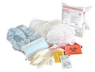 Hart Health Infection Control Kit w/ CPR Face Shield