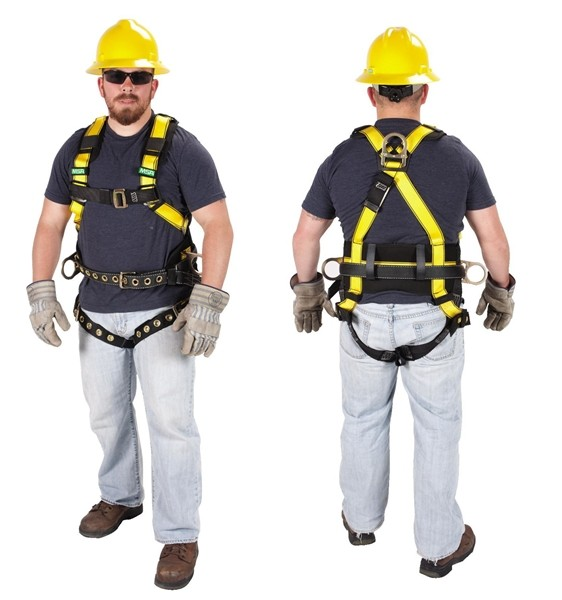 10077571 msa workman® harness 10077571 safety supplies unlimited