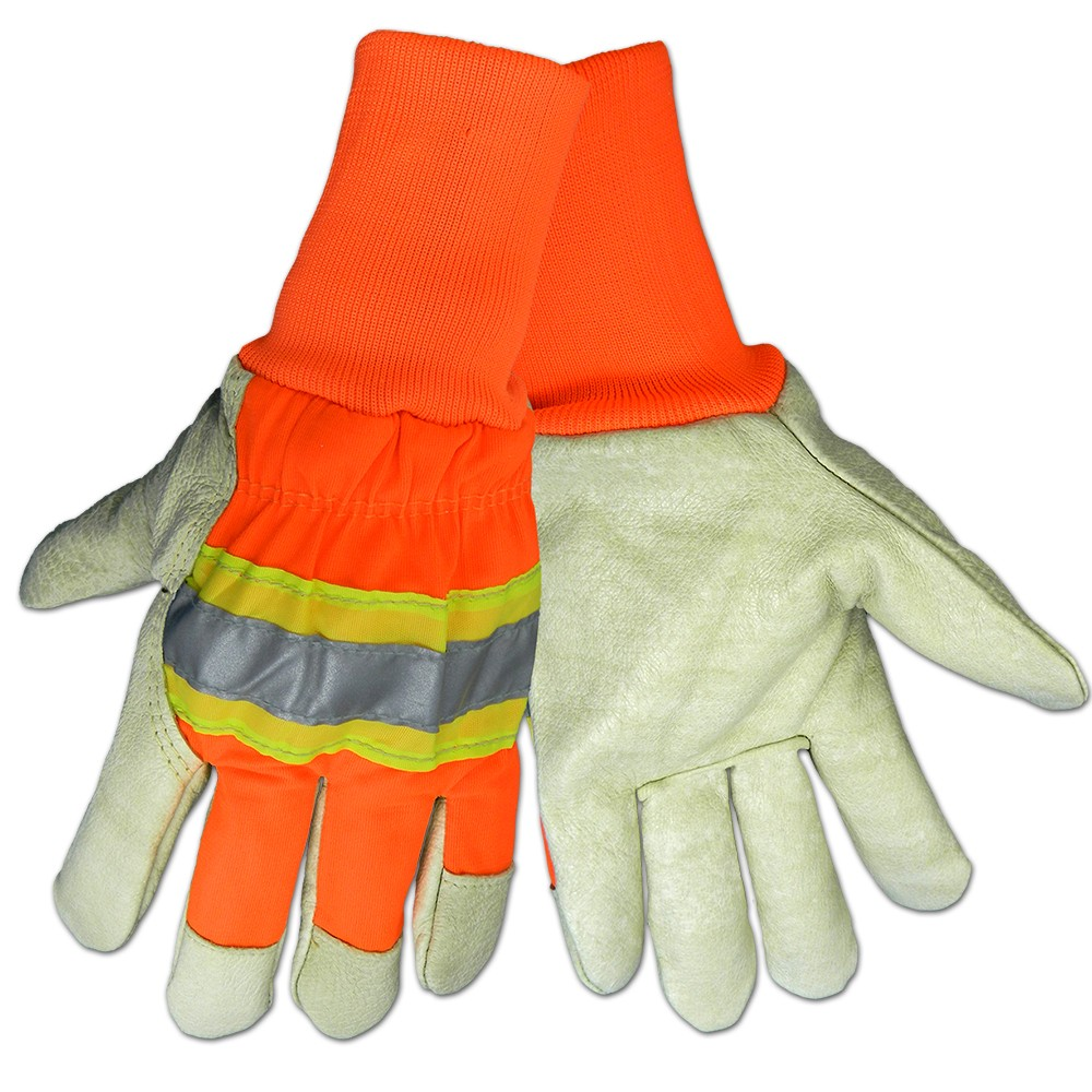 Global Glove High Visibility Insulated Pigskin 2900hvkw