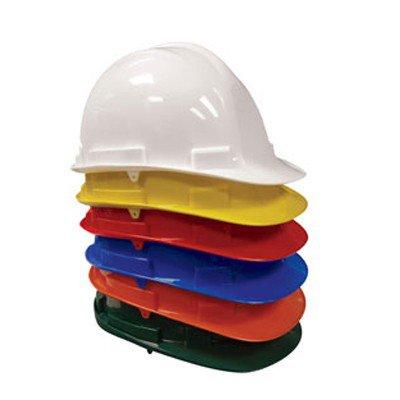 SAS SAFETY: 7160- (01-05) Hard Hat with 4 Pt Pinlock Suspension