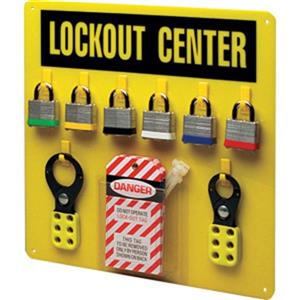 43799by Brady 174 Economy Lockout Center Safety Supplies