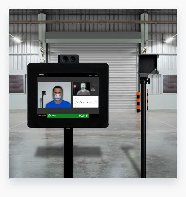 Seek Scan Thermal Imaging Camera and Kiosk